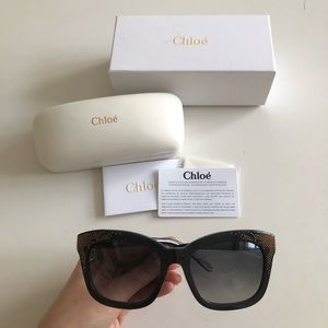 BNWT CHLOE sunglasses with box and case